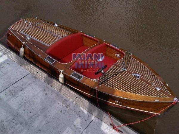 lancha de madera Chris Craft 17 Deluxe Runabout año 1937
